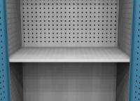 SPD 11P2 kiegészítő polc perfo hátfalas szekrényhez