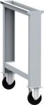 DPN_02_AP munkapad láb fix görgőkkel (150 kg teherbírás)