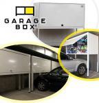 GARAGEBOX® tárolószekrény garázsba, teremgarázsba