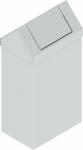 KOS-1262 billenőfedeles fém szemetes kuka (90 l)