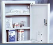 LEK 01 B fali gyógyszerszekrény vészkulcs tartóval