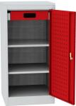 NAR_01_BL szerszámtároló szekrény, 2 db polc, 1 fiók