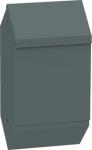 PWC-01-D fém kutyaürülék gyűjtő, hátoldalon rögzíthető