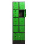 SBE_32_A8 mobileszköz töltőállomás (8 fakk, 230V/16A)