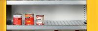 SCH_VAN_01_PZ kiegészítő rácsbetétes tálcapolc SCH 01 vegyszerszekrényhez
