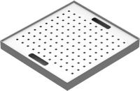 SCH_VAN_03_PZ kiegészítő rácsbetétes tálcapolc SCH 05 vegyszerszekrényhez