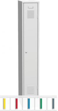 K2440/300 1-ajtós öltözőszekrény lábazattal
