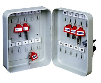 TS-20 kulcskazetta 20 db kulcs tárolására