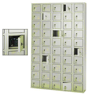 SBS-X5-A értékmegőrző, szendvicstároló szekrény, 50 rekeszes