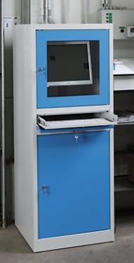 PCS 03A ipari számítógép szekrény 2 db polccal