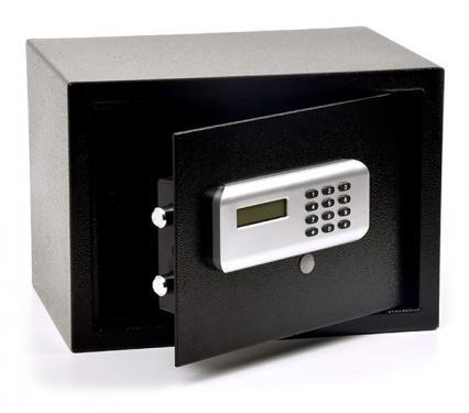 """Basic 25 E bútorszéf elektromos zárral (MABISZ """"A"""" minősítés)"""