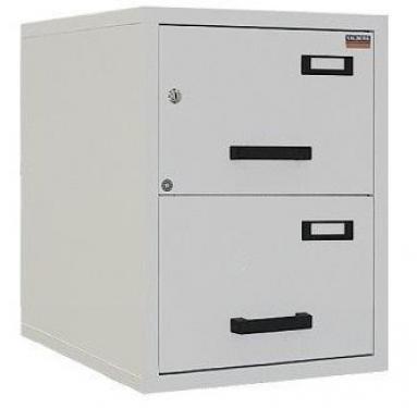 FC 2K-NN tűzálló függőmappa tároló szekrény (2 fiók, 60 perc, kulcsos)