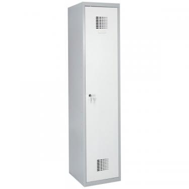 Sum 310 W hosszúajtós öltözőszekrény (1 ajtós, lábazaton álló)