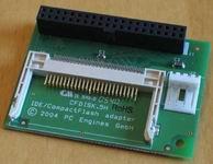 CompactFlash-IDE adapter, direkt, párhuzamos (CF-IDE)