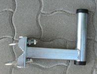 Stefino antenna konzol, csőre szerelhető, rövid