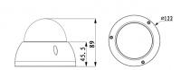 Dahua IPC-HDBW2300R-Z/VF 3 Megapixel Zoom IP dóm kamera