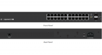 EdgeSwitch Lite 24 port Gigabit switch, Rack