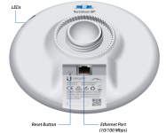 NanoBeam M2 13dBi 2.4GHz kültéri AP/Kliens