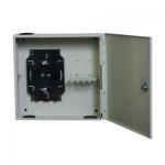 Optikai fali kötődoboz 8xSC, LC duplex, E2000 toldó számára Zárható