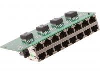 POE tápfeladó 8 port, tokozatlan, Gigabit, Cyber