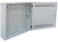 """Rack szekrény 19"""" egyrészes fali 4U+2U/150"""