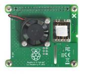 Raspberry Pi PoE HAT bővítő RBI Pi 3B+
