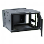 X-Tech  6U kétrészes fali rack szekrény, 600 mm mély