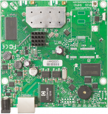 RouterBOARD 911G-5HPnD alaplap, Level 3