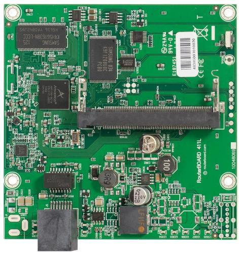 RouterBOARD 411L alaplap, Level 3
