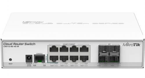 Cloud Router Switch CRS112-8G-4S-IN asztali switch