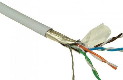 FTP kábel CAT.5E fali, Optro-Net 49352, 305 méter
