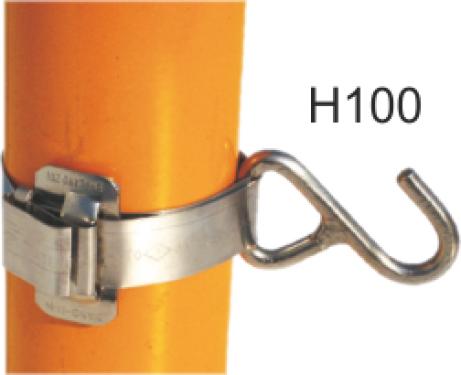 METZ H100 Pici horog, rozsdamentes