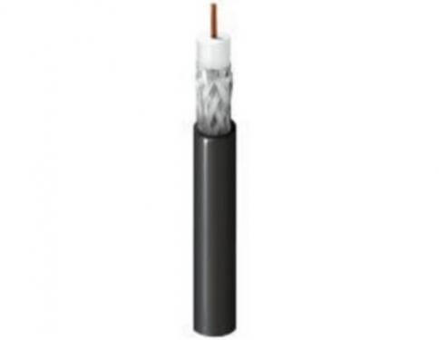 RG-6 koax kábel 75 ohm fekete, Belden 9116E, 305 méter