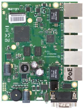 RouterBOARD 450Gx4 alaplap Level 5