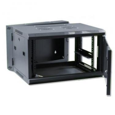 X-Tech - 6U fali rack szekrény 600x600 kétrészes