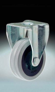 Fix álló kerék szürkegumis  40 mm