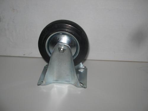Fix kerék fekete gumis 100 mm