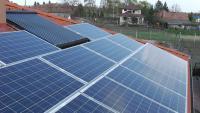 10 kW-os napelem rendszer kompletten Sharp napelemmel