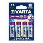 Varta Professional Lithium AA elem BL4