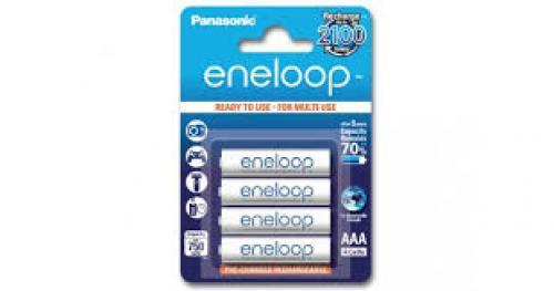 Sanyo/Panasonic Eneloop akku 4db AAA elem