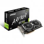 MSI GeForce GTX 1060 Armor OC 6GB GDDR5 192bit grafikus kártya / videó kártya