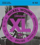 D'Addario EXL120 elektromos gitár húr