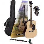 Soundsation Yosemite akusztikus gitárszett natúr