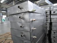 1.3 - 500 L-es - rozsdamentes acél szállító tartály + utánfutó, kompl.