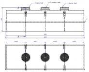 4. 15 m3-es PE. műanyag szögletes szállító tartály