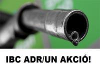 1. ÚJ 640 L-es IBC ADR / UN gázolaj tároló és szállító tartály + KIT
