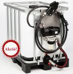 2. ÚJ 1000 L-es IBC ADR / UN gázolaj tároló és szállító tartály + KIT