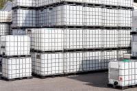 4.3. <> Tiszta, ÉLELMISZERES, IBC, 1000 L-es tartály / konténer