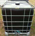 1050 literes IBC tartály - fekete