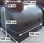 5. GN-2 vízóra akna - dupla méret - lépésálló tetővel